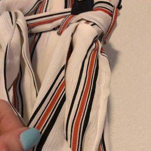 Lush Shorts - Lush Paperbag Waist Tie Pleated Shorts
